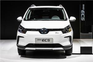 新实力长续航SUV北汽新能源EC5即将上市